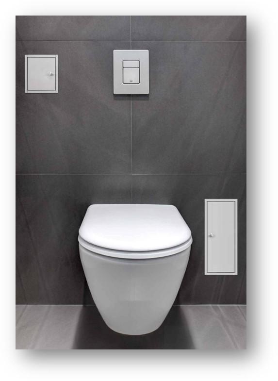 Brush-up: Inbouw toilet borstel